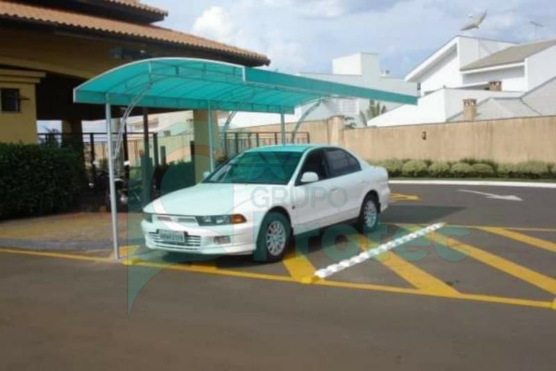 Toldo para estacionamento